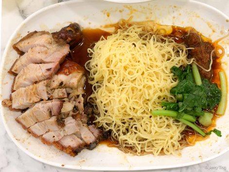 Roast Pork Belly Noodles