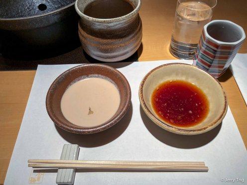 Sesame and Ponzu sauce