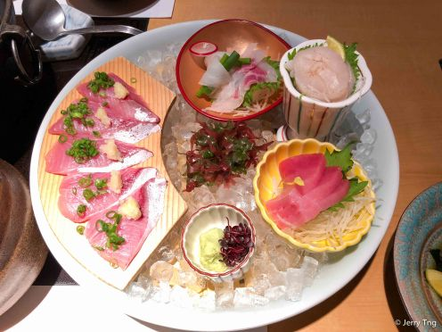 Sashimi 季節のお造り盛合せ