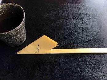 Namecard chopstick cover