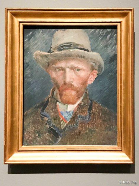 Self Portrait, Van Gogh, 1887