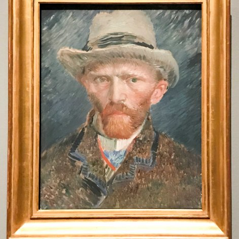 Self Portrait, Van Gogh, 1887