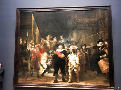 Rembrandt's Nightwatch, 1642