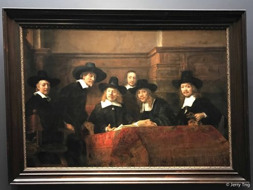 Rembrandt's The Syndics, 1662