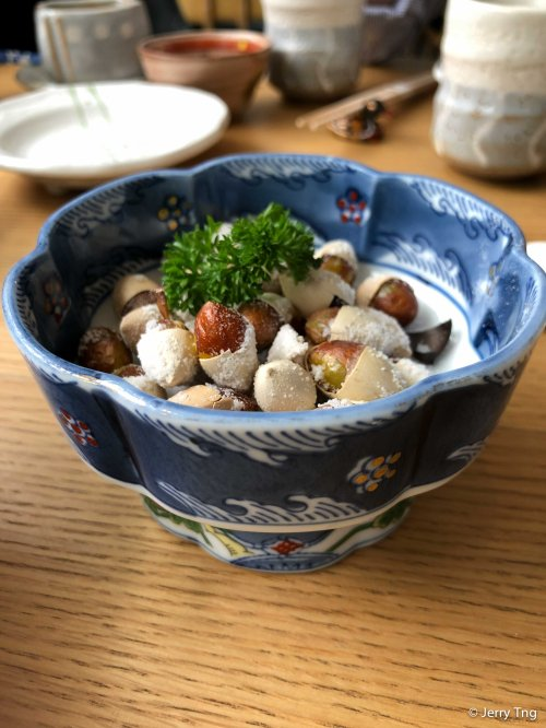 Grilled Gingko 盐钞银杏