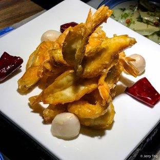 酥皮荔枝虾