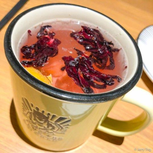 陈皮洛神花茶