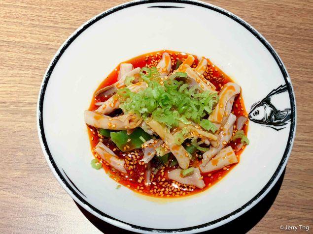 红油脆鹅肠 Spicy Goose Intestines