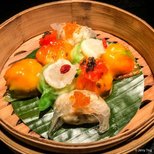 四式点心拼 Luxurious dim sum platter