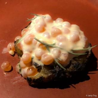 Potato and sour cream