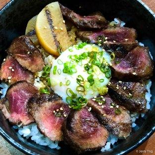 Suki Beef Rice Bowl