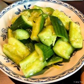 現拍香蒜黃瓜