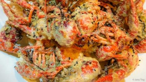 咸蛋黄龙虾