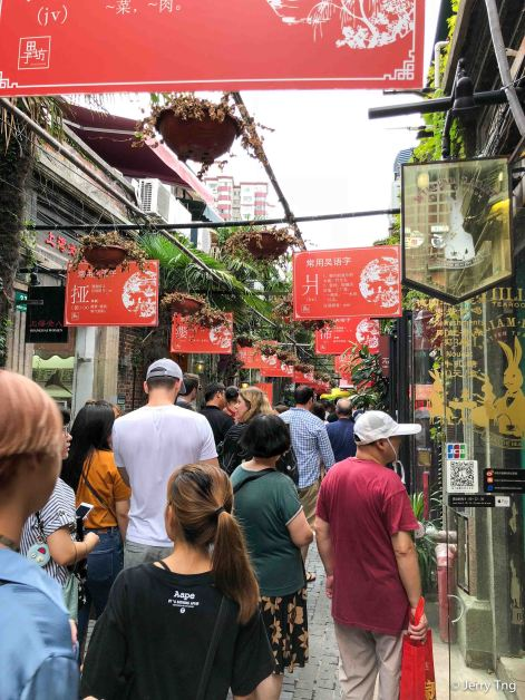 Packed with tourists, losing a bit of the charm