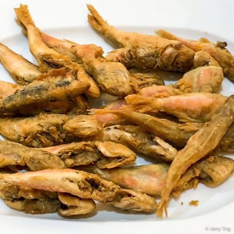 Pescaditos Fritos ( Salmonetitos )