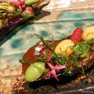 日式茄子母樂伴豉醬