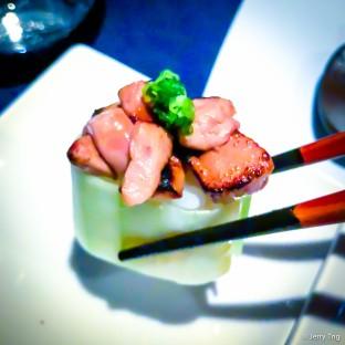 煎鵝肝壽司