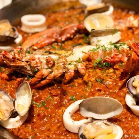 Blue Lobster Paella
