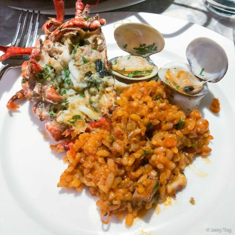 Blue Lobster Paella