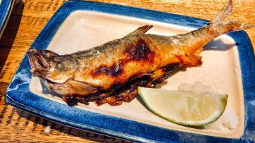Grilled Ayu