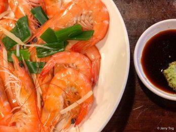Poached Prawn 白灼斑节虾