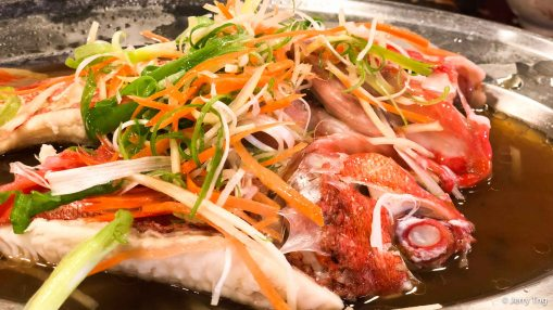 Steamed grouper 蒸红斑