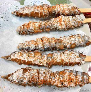 Grilled ribbon fish