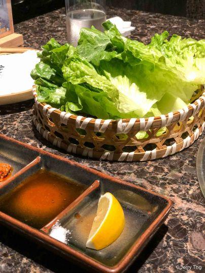 Lettuce for wraps