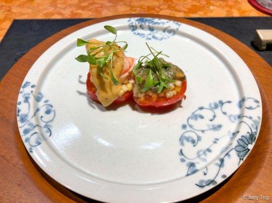 Fruit tomato farci