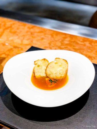 Hokkaido scallop bouillabaisse