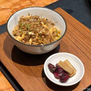 Sardine garlic rice