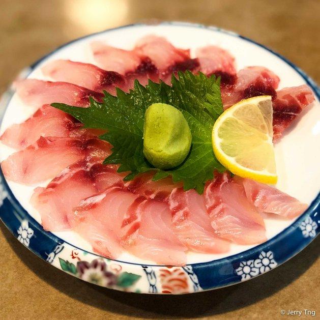 Aji sashimi