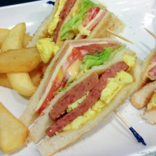 Club sandwich, HK-style