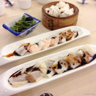鮮蝦腸 叉燒包