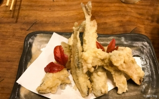 Deep fried sardine