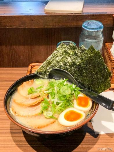 豚骨醤油SP Tonku shioyu ramen SP