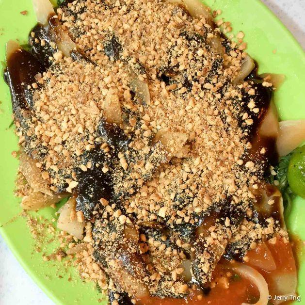 Cuttlefish kangkong