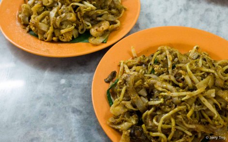 Penang-style char kway teoh