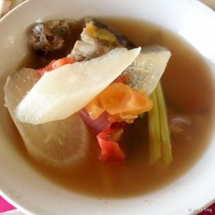 Assam fish soup