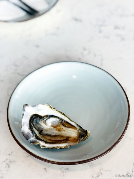 Cadoret oyster with ponzu
