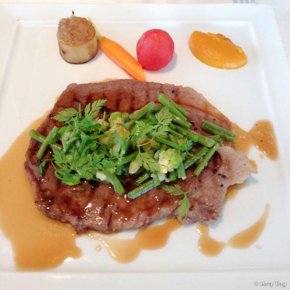Charcoal Grilled Kagoshima Wagyu Sirloin