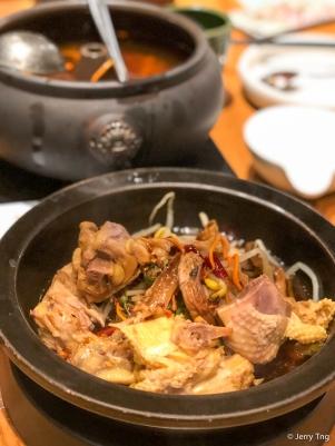 野生菌汽锅鸡 Mushroom steam pot chicken