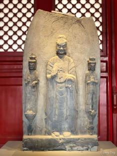 石造像碑(北魏 386-534)Stone stele for buddha statue (Northern Wei dynasty 386-534)