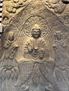 石造像碑(北魏正光三年, CE522)Stone stele for buddha statue (522, Northern Wei dynasty 386-534)