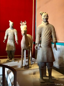 陶武士俑(秦 BCE221-207)Terracotta warrior (Qin dynasty BCE 221-207)