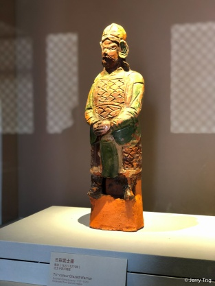 三彩武士俑(南宋 1127-1279)Tri-colour glazed warrior (Southern Song period 1127-1279)