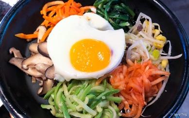 Bibimbap 비빔밥 石锅拌饭
