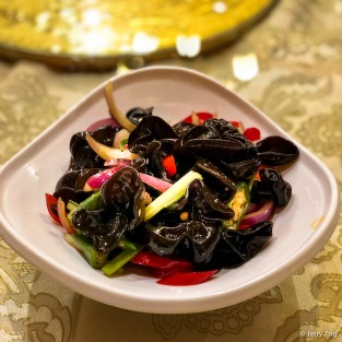 木耳秋葵 Black fungus with okra