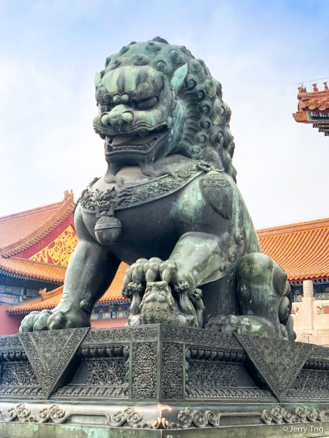 Ming-era stone lions 明代石獅