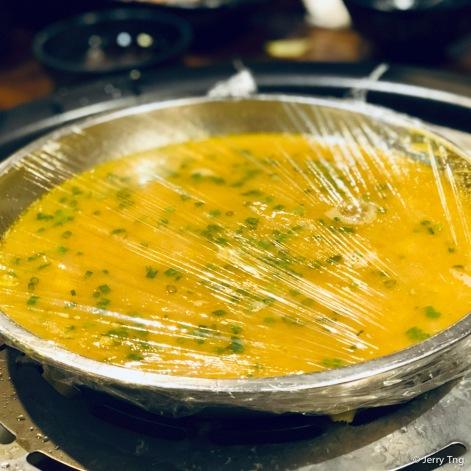 蟹粉蒸蛋 Steamed egg with crab roe